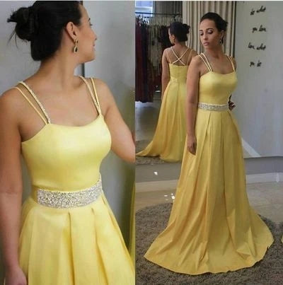 Prom Dresses Banquet Gowns Evening Gowns with Spaghetti Straps MPD331