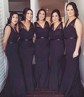Floor Length Bridesmaid Dresses MBP033
