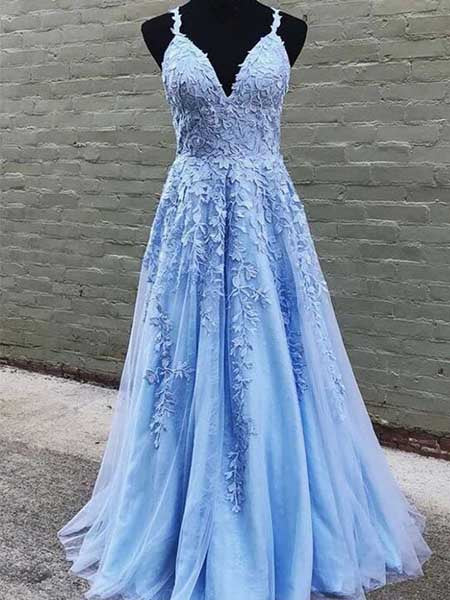 Tulle and Lace Prom Dresses Banquet Gowns Evening Gowns MPD480