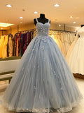 Tulle and Lace Formal Dresses Prom Dresses Wedding Party Dresses LPD491
