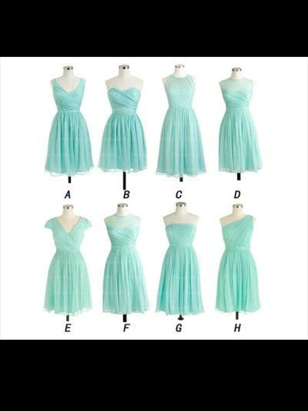 Chiffon Bridesmaid Dresses MBP005