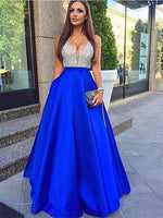 Beaded Banquet Gowns Evening Gowns Prom Dresses MPD510
