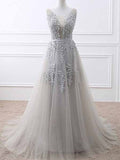 Tulle and Lace Prom Dresses Banquet Gowns Evening Gowns MPD519