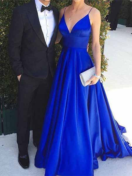 Royal Blue Prom Dresses Banquet Gowns Evening Gowns MPD542