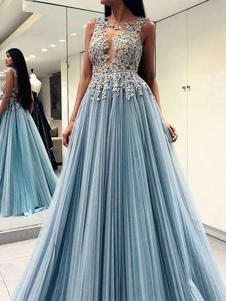 Tulle and Lace Prom Dresses Banquet Gowns Evening Gowns MPD553