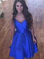 Royal Blue Homecoming Dresses Sweet 16 Dresses Wedding Party Dresses MPD576