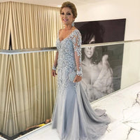 Lace Prom Dresses Banquet Gowns Evening Gowns MPD595