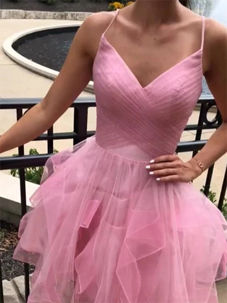 Pink Sweet 16 Dresses Homecoming Dresses Wedding Party Dresses MPD600