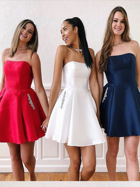 Sweet 16 Dresses Homecoming Dresses Wedding Party Dresses MPD605