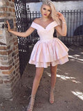 Off the Shoulder Homecoming Dresses Sweet 16 Dresses Wedding Party Dresses MPD606