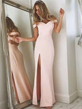 Off the Shoulder Banquet Gowns Evening Gowns Prom Dresses MPD627