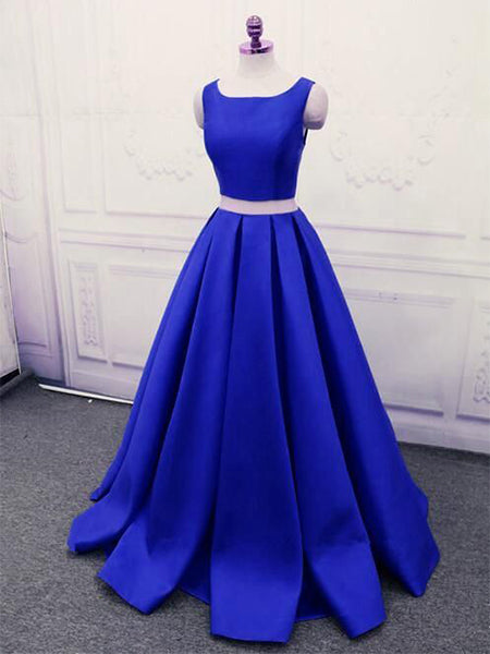 Two Pieces Prom Dresses Banquet Gowns Evening Gowns MPD652