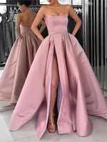 Satin Prom Dresses Banquet Gowns Evening Gowns MPD655