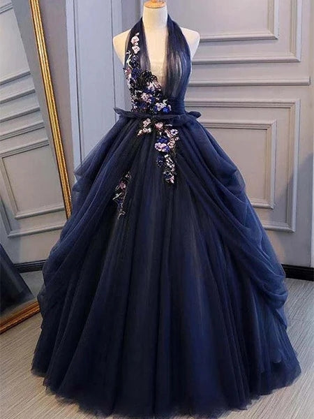 Tulle Prom Dresses Banquet Gowns Evening Gowns MPD666