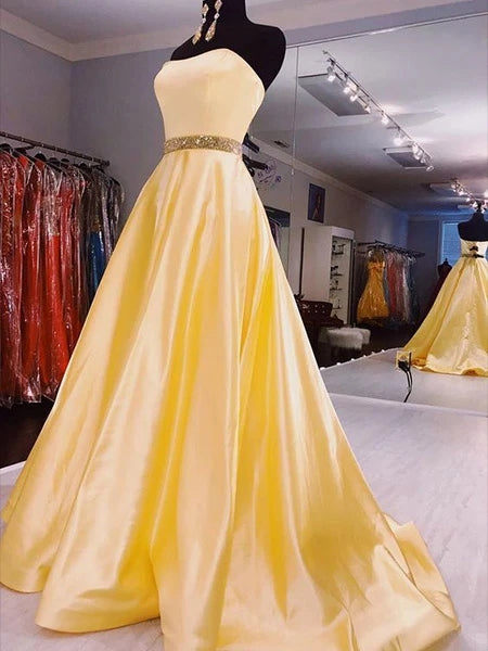 A Line Prom Dresses Banquet Gowns Evening Gowns MPD682