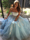 Tulle and Lace Prom Dresses Banquet Gowns Evening Gowns MPD698