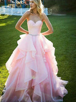 Organza Banquet Gowns Evening Gowns Prom Dresses MPD714