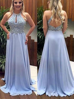 Beaded Chiffon Prom Dresses Banquet Gowns Evening Gowns MPD741