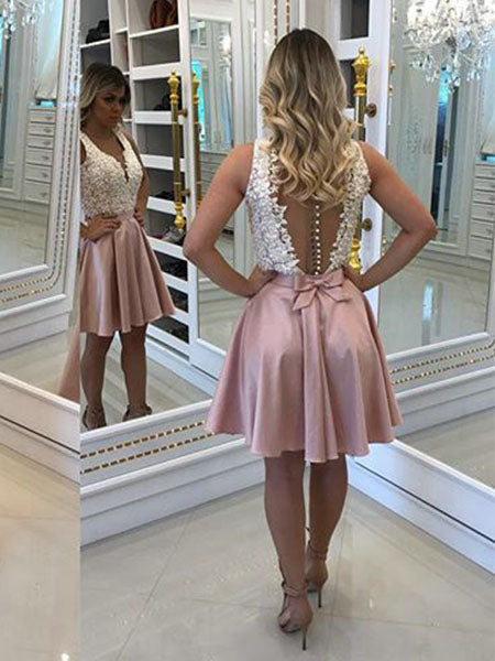 Lace Homecoming Dresses Sweet 16 Dresses Party Dresses MPD751