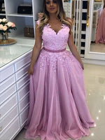 Tulle and Lace Prom Dresses Banquet Gowns Evening Gowns MPD763