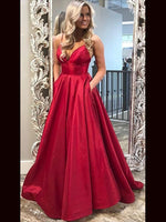 A Line Prom Dresses Banquet Gowns Evening Gowns MPD802
