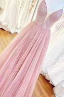 Beaded Tulle Prom Dresses Banquet Gowns Evening Gowns MPD829