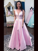 Satin Prom Dresses Banquet Gowns Evening Gowns MPD831