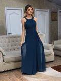 Chiffon Halter Prom Dresses Banquet Gowns Evening Gowns MPD848