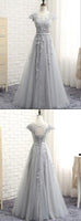 Lace and Tulle Prom Dresses Banquet Gowns Evening Gowns MPD849