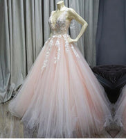 Lace and Tulle Banquet Gowns Evening Gowns Prom Dresses MPD506