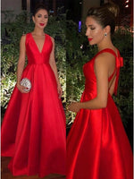Satin Formal Dresses Prom Dresses Banquet Gowns Evening Gowns MPD625