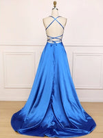 Satin Prom Dresses Graduation Party Dresses Banquet Gowns Evening Gowns MPD675