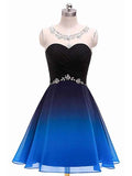 Chiffon Homecoming Dresses Sweet 16 Dresses LPD002