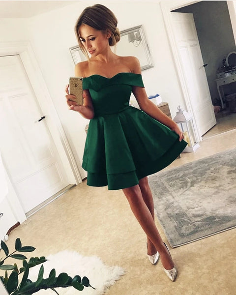 Off the Shoulder Homecoming Dresses Sweet 16 Dresses MPD072
