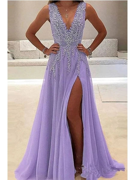 Beaded Prom Dresses Banquet Gowns Evening Gowns MPD342