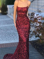 Sparkling Prom Dresses Banquet Gowns Evening Gowns MPD368