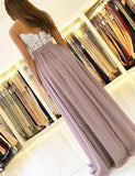 Chiffon and Lace Prom Dresses Formal Dresses Wedding Party Dresses MPD378