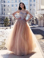 Sweetheart Neckline Prom Dresses Banquet Gowns Evening Gowns MPD404