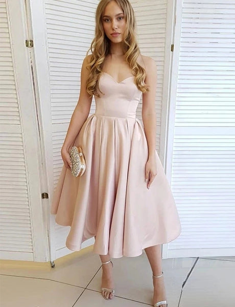 Satin Homecoming Dresses Sweet 16 Dresses MPD418