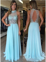 Chiffon Prom Dresses Banquet Gowns Evening Gowns MPD448