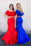 Two Pieces Prom Dresses Banquet Dresses Formal Dresses MPD127