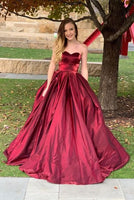 A Line Prom Dresses Evening Dresses Wedding Party Dresses MPD135