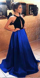 Halter Prom Dresses Banquet Gowns Evening Gowns MPD190