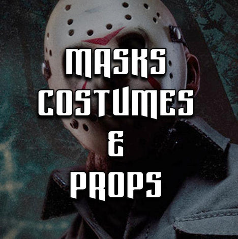 MASKS, COSTUMES, & PROPS