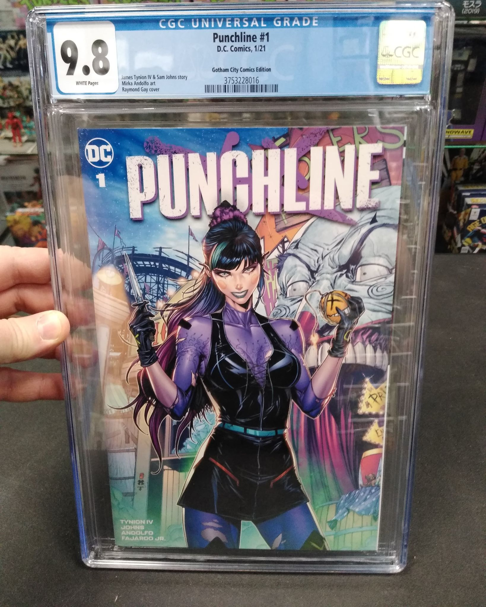 Punchline #1 One-Shot Limited Store Exclusive Cover Guaranteed CGC 9.8