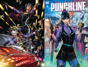 Joker #1 Team Variant & Punchline #1 Store Exclusive Combo - PREORDER