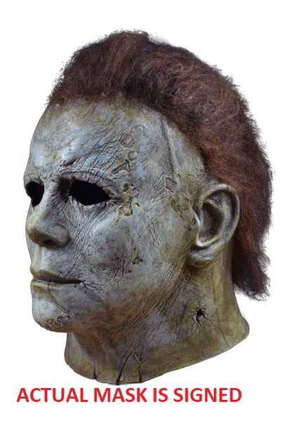 Halloween 2018 - Michael Myers Mask Signed by James Jude Courtney