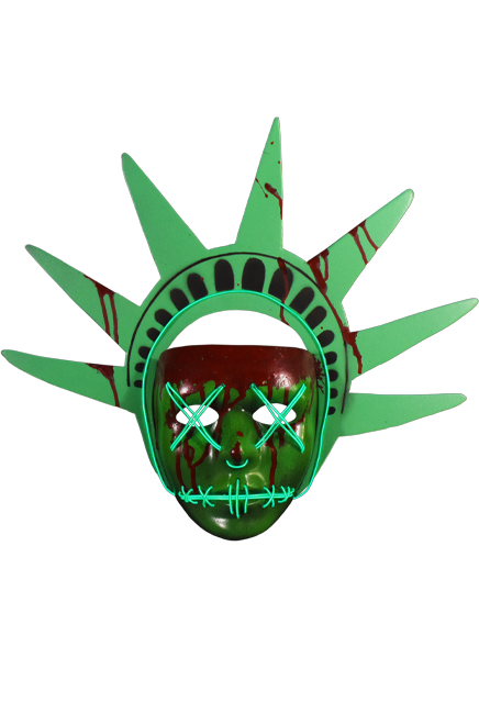 The Purge: Election Year Lady Liberty Light Up Mask