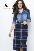 Load image into Gallery viewer, Maxi dress jeans R913
