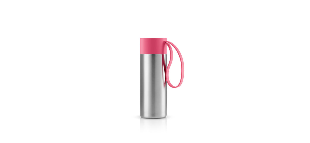 Koffie on the go Eva Solo roze 0,35l